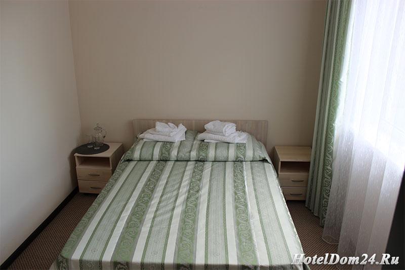 Номер Люкс 2 этаж кровать