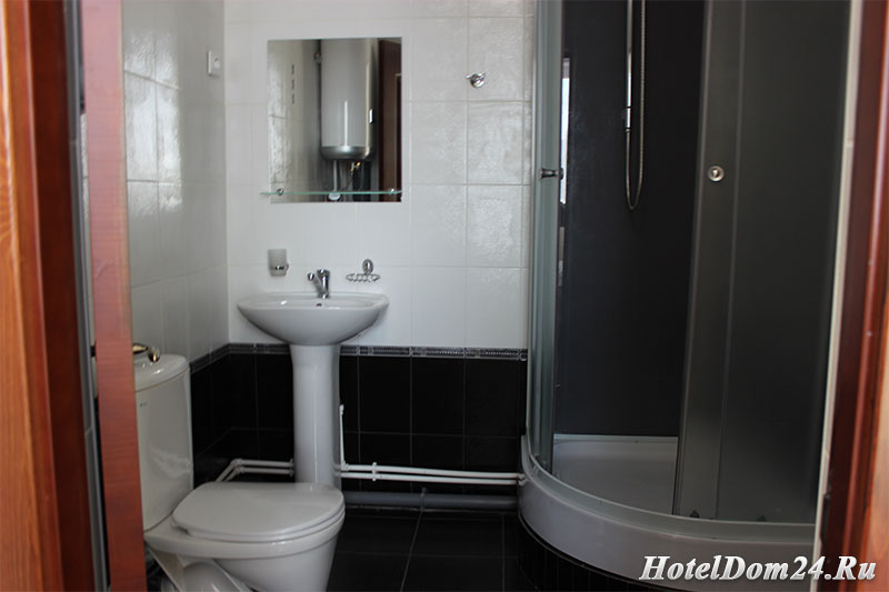 Номер Люкс ванная комната